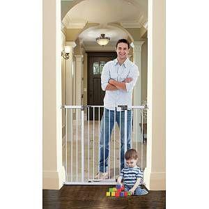 White Dreambaby Liberty Tall Metal Safety Gate