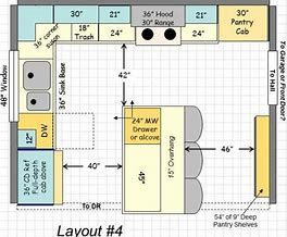 Image Result For 12 X 14 Kitchen Floor Plans Designs Layout