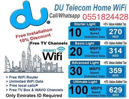 Wifi Service Plans >> Du Home Wifi Packages Services In All Uae Just Call Or