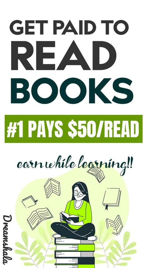 get paid to read books.