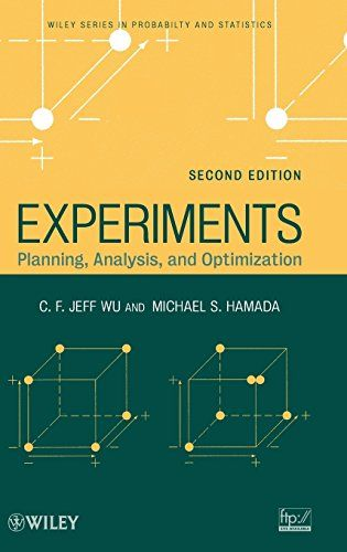 Experiments Planning Analysis And Optimization Wont Available Any Time So We Wil Ask Do You Really Want Experiments Planning In 2020 Optimization Analysis Experiments