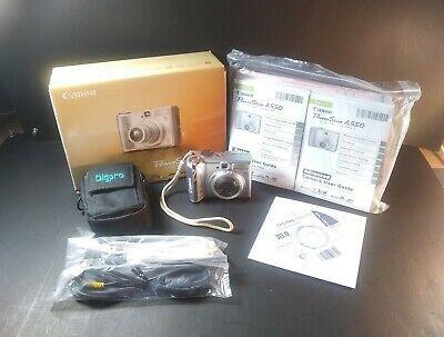Canon Powershot A550 7 1mp Digital Camera Silver Digital Camera Powershot Canon Powershot