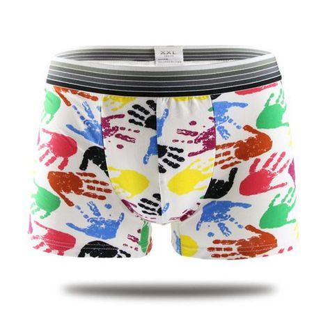 56800f461eab 19 colors fashion design cotton Cartoon cuecas boxer men high quality fancy  patterned mens underwear boxers men shorts Panties