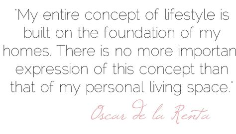 Home - Oscar de la Renta quote