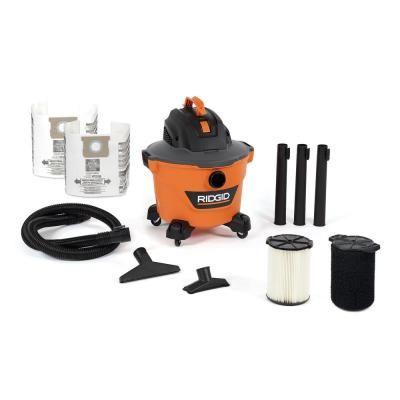 Ridgid 9 Gal 4 25 Peak Hp Nxt Wet Dry Shop Vacuum With Standard