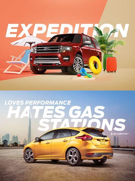 Ford MENA Social Media Revamp on Behance