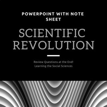 Scientific Revolution Powerpoint Note Sheet Distance Learning Scientific Revolution History Lesson Plans Note Sheet