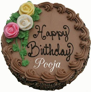 Happy Birthday Pooja Happy Birthday Names Pinterest Happy