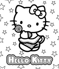 Coloring Pages September 2011 Hello Kitty Coloring Hello Kitty Colouring Pages Kitty Coloring