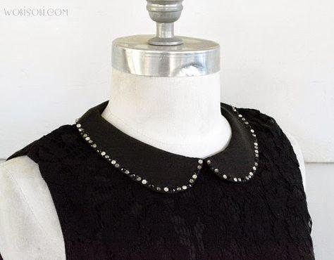 Crystal Collar DIY.