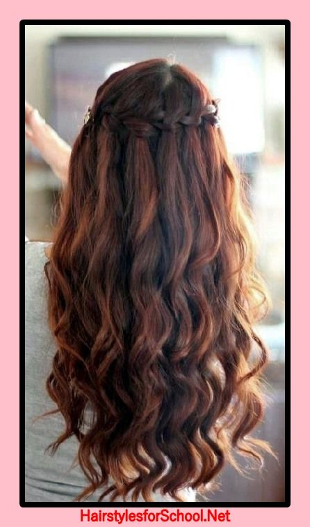 Hairstyles For Valentine S Day To School Hairstyles For School Braids For Long Hair Long Hair Styles Hair Styles