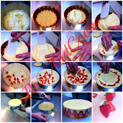 Le fraisier et autres entremets avec fruits et génoise { recette CAP pâtissier + trucs et astuces }