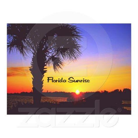 Beautiful Florida Sunrise Photograph