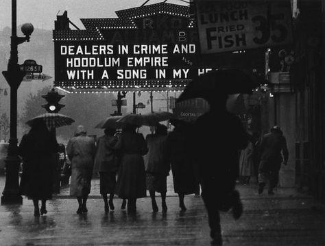 "Gordon Parks' ""Harlem Neighborhood, Harlem, New York"" (1952). Credit for all images must say: Photograph by Gordon Parks, Copyright The Gord..."