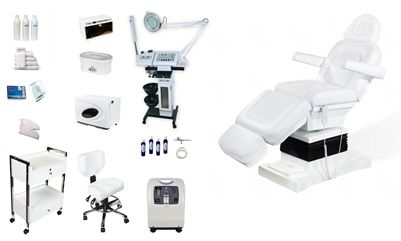 Lux Ii Spa Equipment Package Luxurious Day Spa Equipment Esthetician Aesthetician Beauty Salon Electric Facial Bed Multi Function Units Microdermabrasion Machine Wax Warmer Hot Towel Warmer Manufacture Best Prices Wholesale Modern Supplies