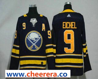 brand new ada77 52c3c Men's Buffalo Sabres #9 Jack Eichel Navy Blue Home Stitched ...