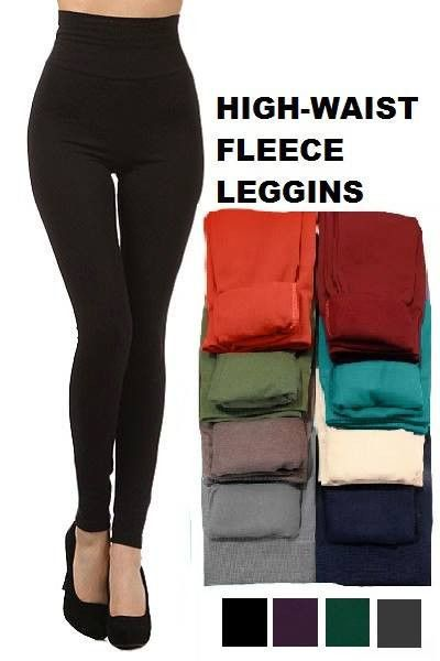 Don't settle for COLD legs this fall/winter! Our fleece lined leggings are not only warm, but they are super soft and comfortable! One-Size (fits up to a 12 comfortably)