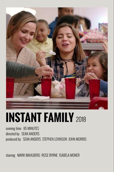 polaroid movie posters instant family