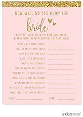 23 of the most fun bridal shower games out there including everything from printable bridal shower games to large group bridal shower games
