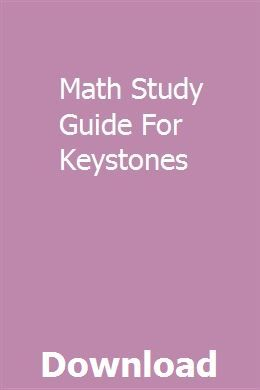 Math Study Guide For Keystones | voisoulcpeacom | Math study