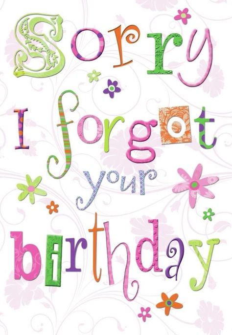 Dear Tereza Dear Barbara My Best Wishes For You I Hope You Had A Fine Time Please Excus Belated Birthday Wishes Happy Birthday Cards Belated Birthday Card