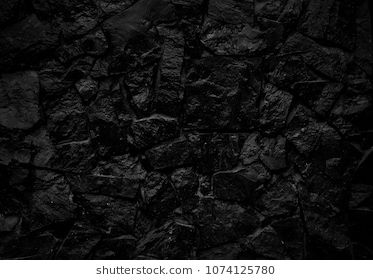 Black Stone Wall Background The Surface Of The Brick Dark Jagged Abstract Black Wall Background Stone Wall Wall Background Stone Wallpaper