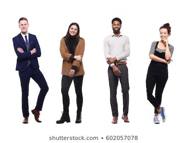 Group Of Full Body People People Poses Photo Editing Drawing People