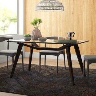 Modern Kitchen Dining Tables Allmodern In 2020 Dining Table Solid Wood Dining Table Wood Dining Table