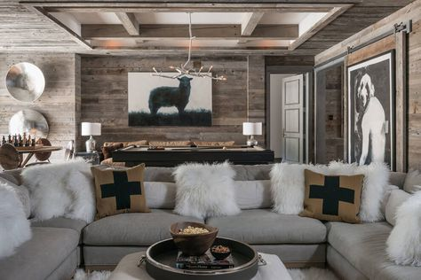 Amazing rustic chalet in USA designed by Locati Architects Follow Adorable Home for daily design inspiration