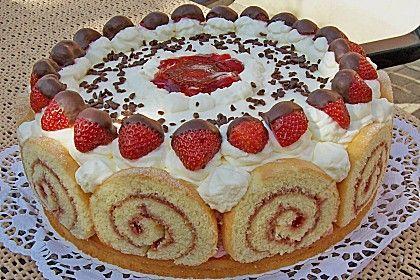 Erdbeer Schmand Torte Rezept Kuchen Und Torten Kuchen Und Torten Rezepte Backrezepte