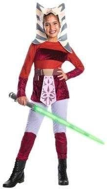 Star Wars Clone Wars Ahsoka Deluxe Medium Child S Halloween Costume Ahsoka Clone Star Wars Costumes Halloween Costumes For Kids Star Wars Halloween