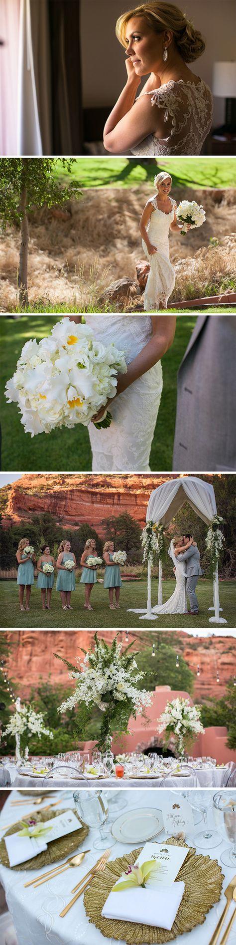 Lovely details from @kendra_scott's wedding | @sedonabride | Brides.com