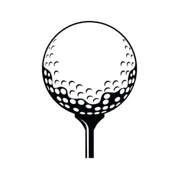 Golf Ball Vector Icon Black And White Black Icons White Icons Golf Icons Png And Vector With Transparent Background For Free Download In 2020 Vector Icons Golf Logo Design Golf Ball