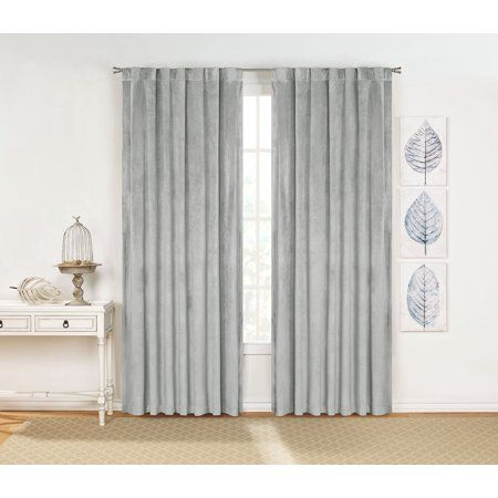 Home Drapery Panels Rod Pocket Curtains Panel Curtains
