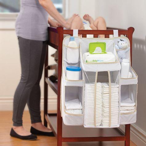 Dexbaby Diaper Caddy and Nursery Organizer for Baby's Essentials