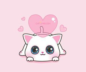 Cute cat cartoon wallpaper