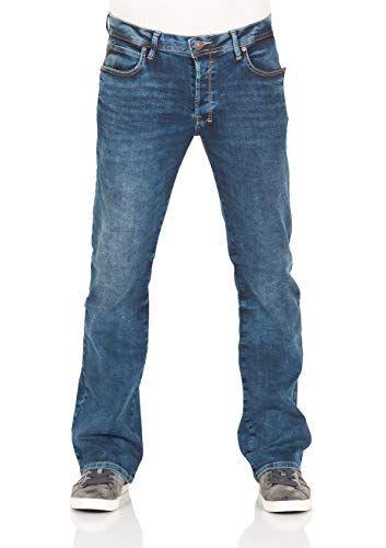 LTB Herren Jeans Hose Roden Basic Stretch Jeanshose Bootcut Blau Blue Lapis Wash w28-w40