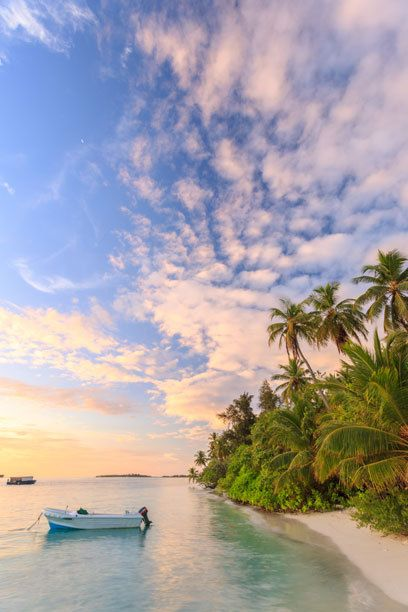 Die führende Strand-Destination im Indischen Ozean: die Malediven