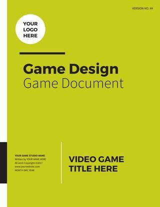 Professional Game Design Document Game Design Document Game
