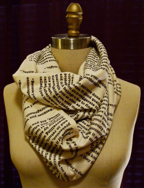 book scarf? yes please