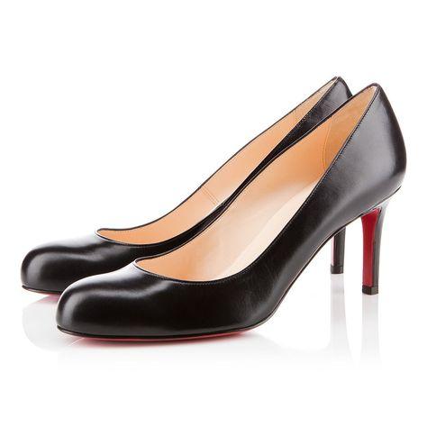 10eadf55f173 Simple Pump 100 Black Patent Leather - Women Shoes - Christian ...