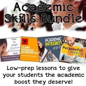 Academic Skill Bundle Prepare Your Student For University Esl Reading Activitie Comprehension Worksheets Paraphrasing Eap