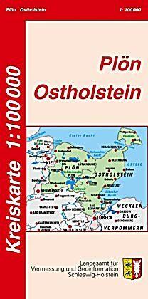 Kreiskarte Schleswig Holstein Kreise Plon Und Ostholstein Karte