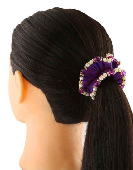 Anuradha Art Jewellery Offers The Wide Range Of Fancy Rubber Bands At Best Price Hair Rubber Bands Hair Hair Rubber Bands Elastic Hair Bands Ponytail Holders