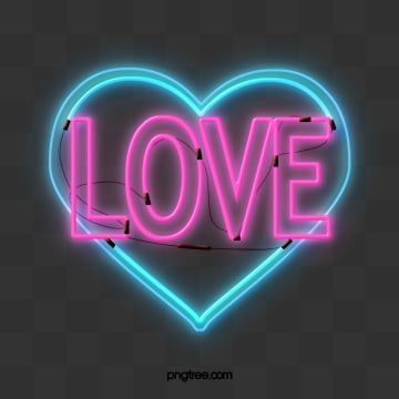 Romantic Love Love Neon Light Element Romantic Love Heart Love Png Transparent Clipart Image And Psd File For Free Download Neon Pastel Pink Aesthetic Love Png