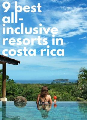 The Best All-Inclusive Resorts in Costa Rica (with Prices Costa Rica ranks high on our bucket list for hundreds of reasons: the rainforests, prime surfing, active volcanoes, and unspoiled beaches, [& Costa Rica All Inclusive, All Inclusive Honeymoon, Best All Inclusive Resorts, Costa Rica Travel, Italy Honeymoon, Honeymoon Places, South America Destinations, Vacation Destinations, Vacation Spots