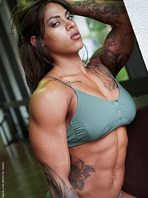 Girl in world most muscular the 50 best