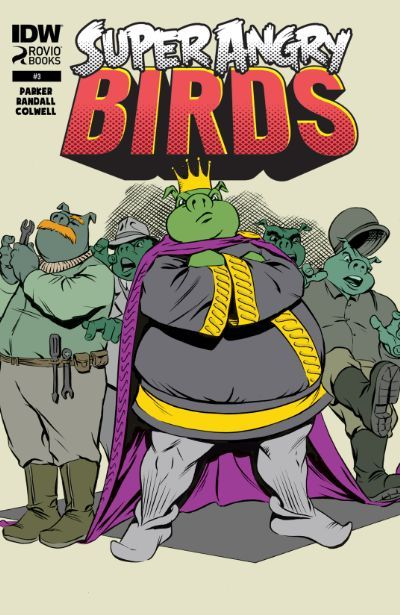 Check out Super Angry Birds #3 (of 4) on @comixology