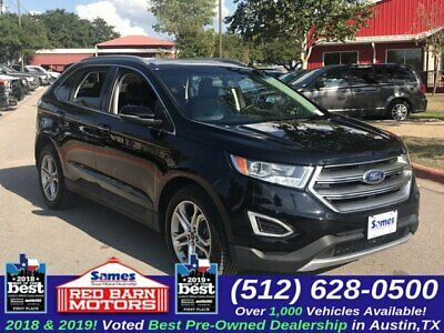 Ebay Advertisement 2016 Ford Edge Titanium Black Ford Edge With