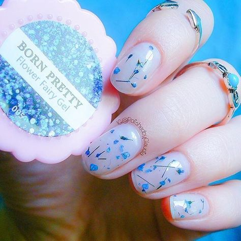 Sweet Fairy Flower Gels Design Love The Flower Nail Gel Polish Manicure Nail Manicure Uv Nails